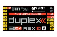Connecting the REX Assist receiver in case multiple receivers are used