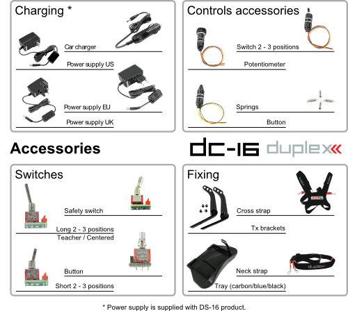 DC-16 Accessories EN