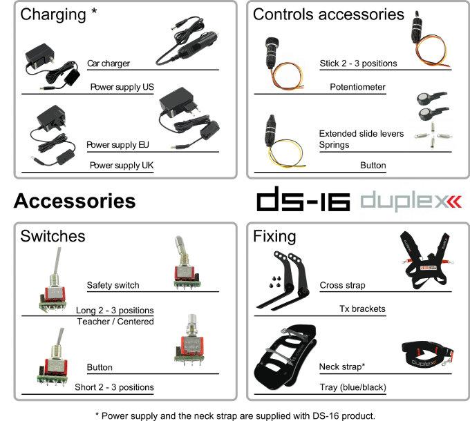 DS-16 Accessories
